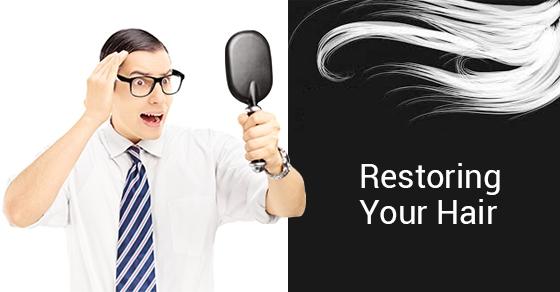 Hair restoration treatment in Toronto